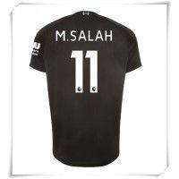 Camisa de Futebol Liverpool Mohamed Salah #11 Equipamento Alternativo 2019-20 Manga Curta Mohamed Salah, Premier League, James Milner, Uefa Champions League, Football Shirts, Shorts, Badges, Psg, Real Madrid