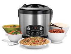 I own this Hamilton Beach rice cooker and love it! If you don't own a rice cooker yet, you need to change that!.. It makes life so much simpler!