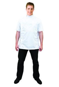 e1a91f4e9cd0 Barber Jacket - Traditional White