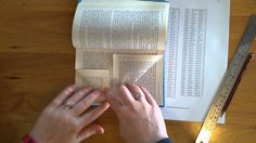 Book Folding Instructions - HABTAB