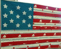 Star Spangled American Flag Quilt | Free Quilt Tutorial | FaveQuilts.com