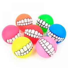 Funny Dog Rubber Toy Chew Ball Squeaky Dog Toys for Dogs Dental Bites Queaker Tooth Cleaning Toy Balls Pet Training Supplies Random -- You can get additional details at the image link. (This is an affiliate link) Cleaning Toys, Teeth Cleaning, Dog Insurance, Smiling Dogs, Training Your Dog, Pet Accessories, Dog Toys, Pet Dogs, Cleaning