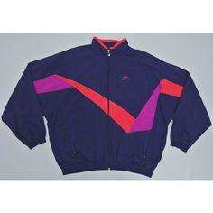 wholesale dealer 8579e 592f9 Nike Windbreaker Man XXL Vintage 90s Nike Jacket Nike Color Block... (180  SAR) ❤ liked on Polyvore featuring activewear, activewear jackets, ...