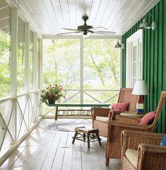 lake rabun porch