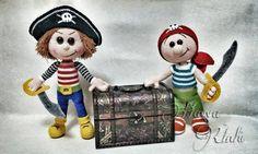 Häkelanleitungen - Freche Piraten Jake Und Jim - ein Designerstück von HavvaDesigns bei DaWanda