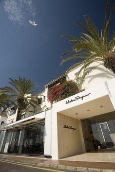 Luxury shopping in Puerto Banus