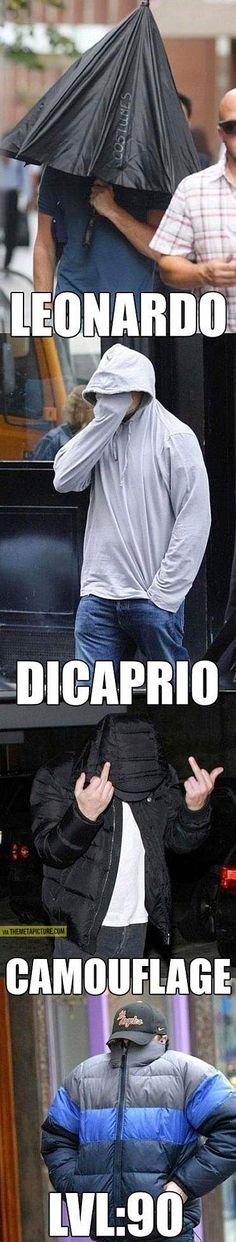 Leo loves the paparazzi…