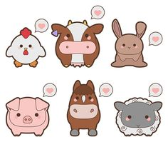 kawaii-barnyard-animal-icons-preview