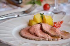 Roast-beef al sale, un secondo di carne semplice e saporito, con pochi grassi. Con videoricetta.