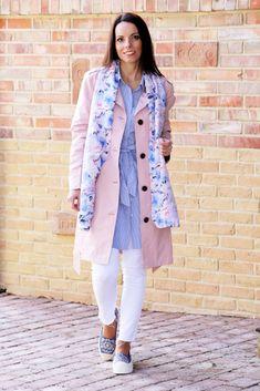 Pink Trench Coat - Tina Chic