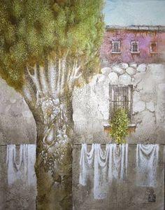 Original Landscape Painting by Daria Galimova Original Art, Original Paintings, Figurative Art, Surrealism, Buy Art, Saatchi Art, Canvas Art, Southern, Fine Art