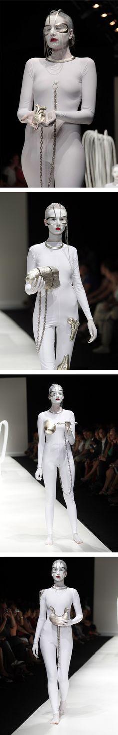 "Deniz Kaprol SS 2012 ""Castle"" Istanbul Fashion Week"