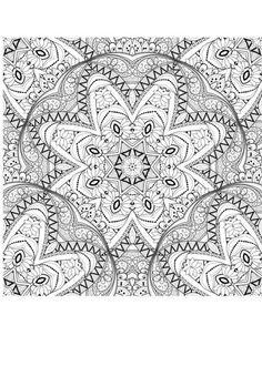 Ein muster in schwarz wei zeichnungen pinterest - Muster malen ...