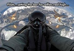Now THAT'S a selfie worth posting.