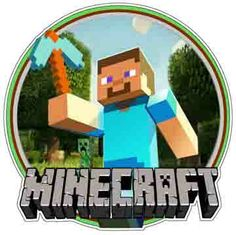 """Minecraft Video Game Logo / Steve With Pick. Order one 2""""x2"""" vinyl sticker free of charge! Pickup is free of charge. Shipping is calculated as per Canada Post rates. Check our vinyl sticker online collection: anysigns.ca"""