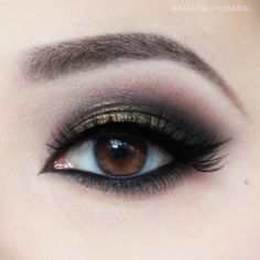 Makeup Withdrawal: Bronze EOTD With Sharp Liner