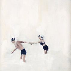 hold fast - very excited this painting by kiki + polly is heading to my house.
