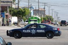 Dodge Charger - Policia Federal Mexico