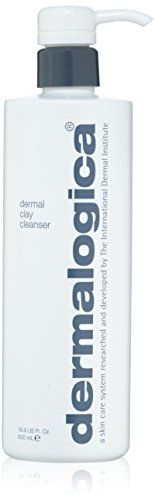 Dermalogica Dermal Clay Cleanser, Fluid Ounce A skin-perfecting formula that provides deep-cleansing to oily, congested skin. Water-soluble kaolin and Cleanser And Toner, Face Cleanser, Face Skin Care, Best Face Products, Face Wash, Oily Skin, Product Packaging