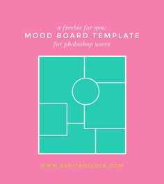 Free Mood Board Template Monday Fruity Rekita Nicole