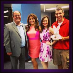 Ashley Gaston, Kerry Cooper, Andrew Chernoff, and Leslie Rangel wishing Southeast Texas a Happy Easter from our News Family to yours!