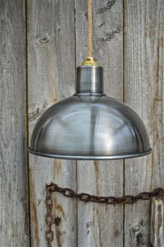RETRO-STEAMPUNK-ANTIQUE-DISTRESSED-STEEL-CEILING-LIGHT-SHADE-LAMP-HANGING-G1B