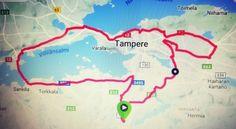 Juoksuhullun vaimo: Kotirataultra 2017, 50 km ja vähän päälle.