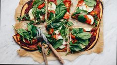 Easy Chickpea Flour Pizza