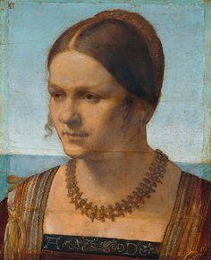 Albrecht Durer, Portrait of a Young Venetian Woman, 1506