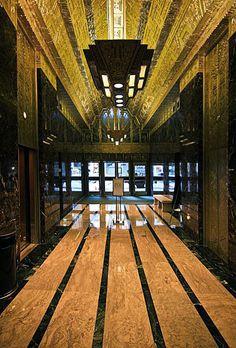 U.S. Art Deco: Lobby of medical building, 450 Sutter street, San Francisco (CA).