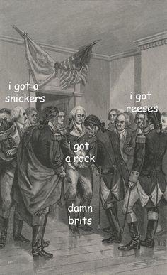 The Captioned Adventures of George Washington - Halloween edition