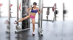 Cable Machine Workout: Standing Abduction