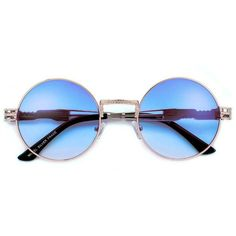 53mm Round Artistry Crafted Thick Temple Boho Sunnies ($5) ❤ liked on Polyvore featuring accessories, eyewear, sunglasses, glasses, cat eye glasses, round cateye sunglasses, cat eye aviator sunglasses, cat-eye glasses and cateye sunglasses