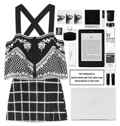"""Untitled #147"" by sworn-in ❤ liked on Polyvore featuring Exclusive for Intermix, The New Black, NARS Cosmetics, Montblanc and KEEP ME"
