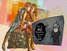 Eonwe X Sauron by EsGallagh on DeviantArt