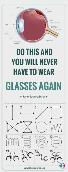 Eye exercises will enhance the quality of your vision, and will help you in overcoming impending problems you may have and maintain your present quality of sight. - EXERCISE AND HEALTH Health Benefits, Health Tips, Health And Wellness, Health Fitness, Fitness Hacks, Health Care, Sixpack Women, Autogenic Training, Salud Natural