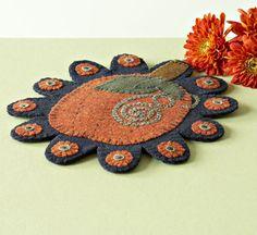Pumpkin Penny rug...
