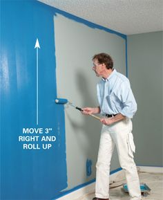 Room-painting tips from a pro; putting the groove along the edge of the ceiling was worth reading it, alone.