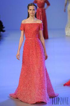 Elie Saab - Couture - Spring-summer 2014 - http://www.flip-zone.net/fashion/couture-1/fashion-houses/elie-saab-4455 - ©PixelFormula