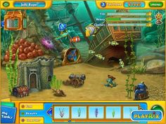 There is something slightly fishy about today's free hidden object game... http://www.jenkatgames.com/free/Fishdom-H20-Hidden-Odyssey