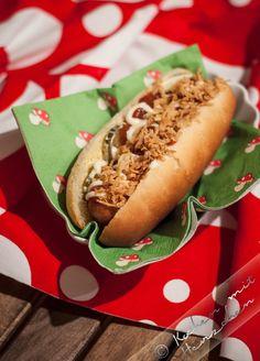 homemade Hot Dog- Brötchen