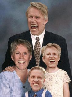 Gary Busey family portrait