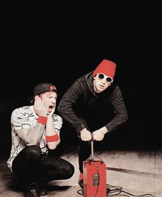 Twenty One Pilots in Kerrang this month issue. June 2015