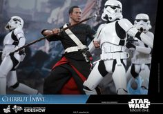 Star Wars Chirrut Imwe Deluxe Version Sixth Scale Figure by | Sideshow Collectibles