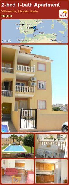 2-bed 1-bath Apartment in Villamartin, Alicante, Spain ►€68,000 #PropertyForSaleInSpain