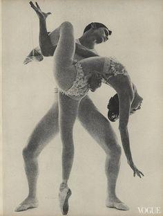 Edward Villella and Allegra Kent | Ballet in Vogue | Ballet