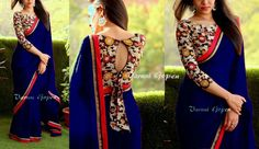 Indian Wedding Sarees Bollywood Pakistani Ethnic Wear Sari Blouse NLC #RuviFashion #DesignerSaree