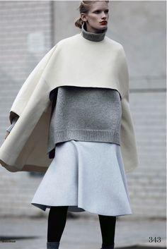 The Maxi Coat: Ilse De Boer By Bruno Staub For Uk Elle October 2013
