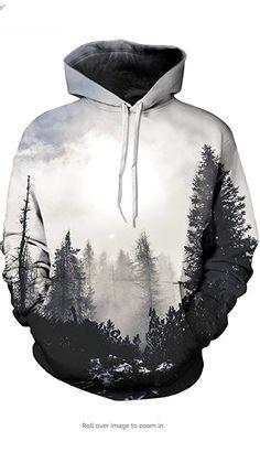 Print Forest Trees Hoodies Men Women Hip hop Spring Autumn Casual Hooded Sweatshirt Boy Tops Streetwear Coat Jacket Plus size. Hoodie Sweatshirts, Zip Hoodies, Pullover Hoodie, Cool Hoodies, Printed Sweatshirts, Anime Hoodies, Basic Hoodie, Weed Hoodies, Men's Clothing