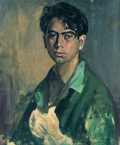 Antoni Tàpies, Barcelona (1923-2012). Autoretrat (1945). Fundació A. Tapies